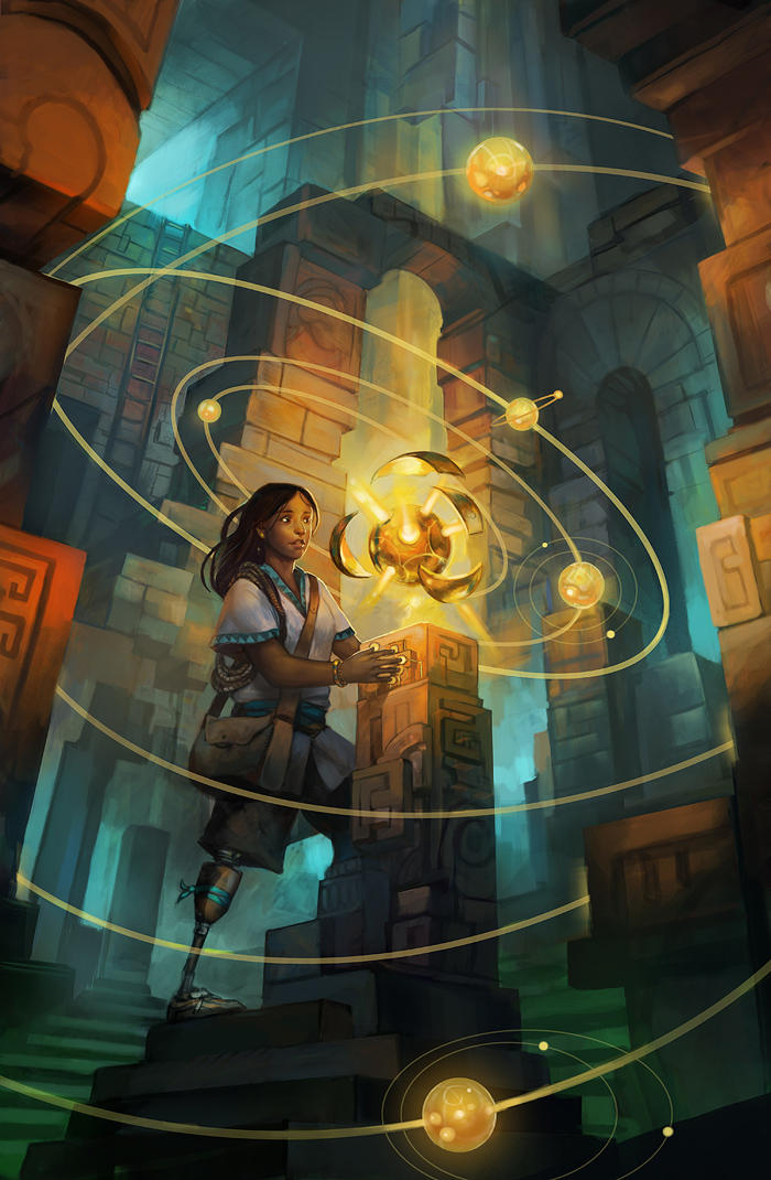 Ancient Discovery by juliedillon