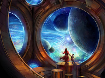 All the Worlds to See by juliedillon