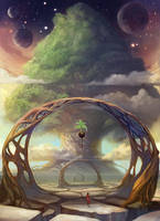 Seed Shrine by juliedillon