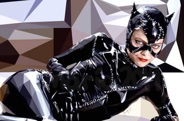 catwoman synthesis by mariafloscher