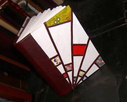 Art Deco Sunburst Book by msjbass