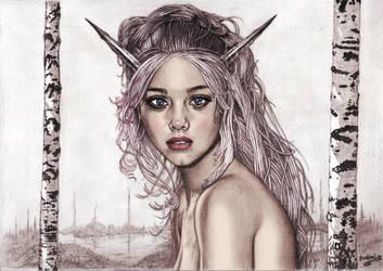 Girl portrait by aroundthewind