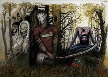 Serial killer by aroundthewind