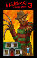 A Nightmare On Elm Street 3 by jasonflowers