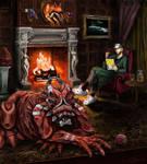 Unlikely Pair - My Pet Monster by efleck