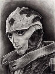 Thane Portrait by efleck