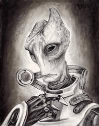Mordin Solus - The Professor by efleck
