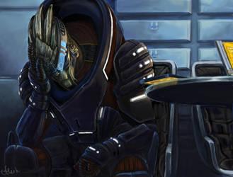 Andromeda - Unwelcome News by efleck