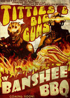 Banshee BBQ Movie Poster by efleck