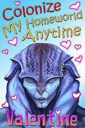 Mass Effect Valentine - Colonize me by efleck