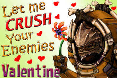 Mass Effect Valentine - Krogan Crush by efleck