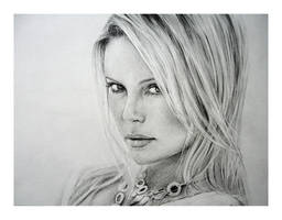 Charlize Theron by Anna-Mariaa