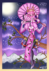 Orchid Mantis Assassin by GalaxyPrince20