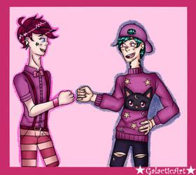 Quinn and Yuuta Final by GalaxyPrince20