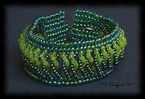 Over and Under Bracelet by Cayca