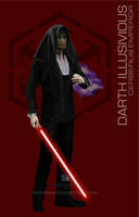 Star Wars Mass Effect Crossover Darth Illusivious by rs2studios
