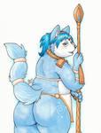 Krystal Butt by PudgeyRedFox