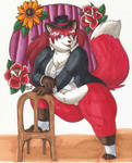 Red Rose City Cabaret by PudgeyRedFox