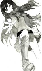 Art Trade - Kat Riddle by ImRocker