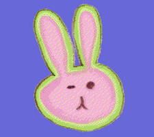 rabbit face by pigmhall
