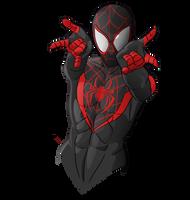 Spider-Man (Miles Morales) by evanattard