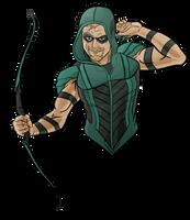 Green Arrow Rebirth by evanattard