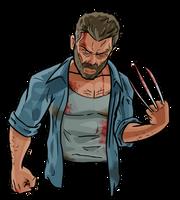 Wolverine Logan by evanattard