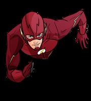 Flash CW Grant Gustin Arrowverse by evanattard