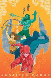 Justice League (2017) Alternate Movie Poster by evanattard