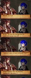 Fire Emblem Fates - Primal Fear. (Cat!Ryoma) by Articuno32
