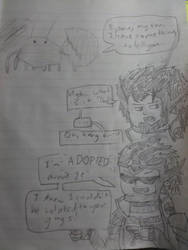 Quick Draw - Ryoma Doesn't Belong to the Lobsters by Articuno32