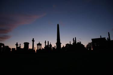 Necropolis Silhouettes 1 by james147741