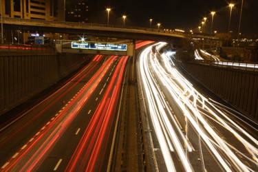 Motorway Lights III by james147741