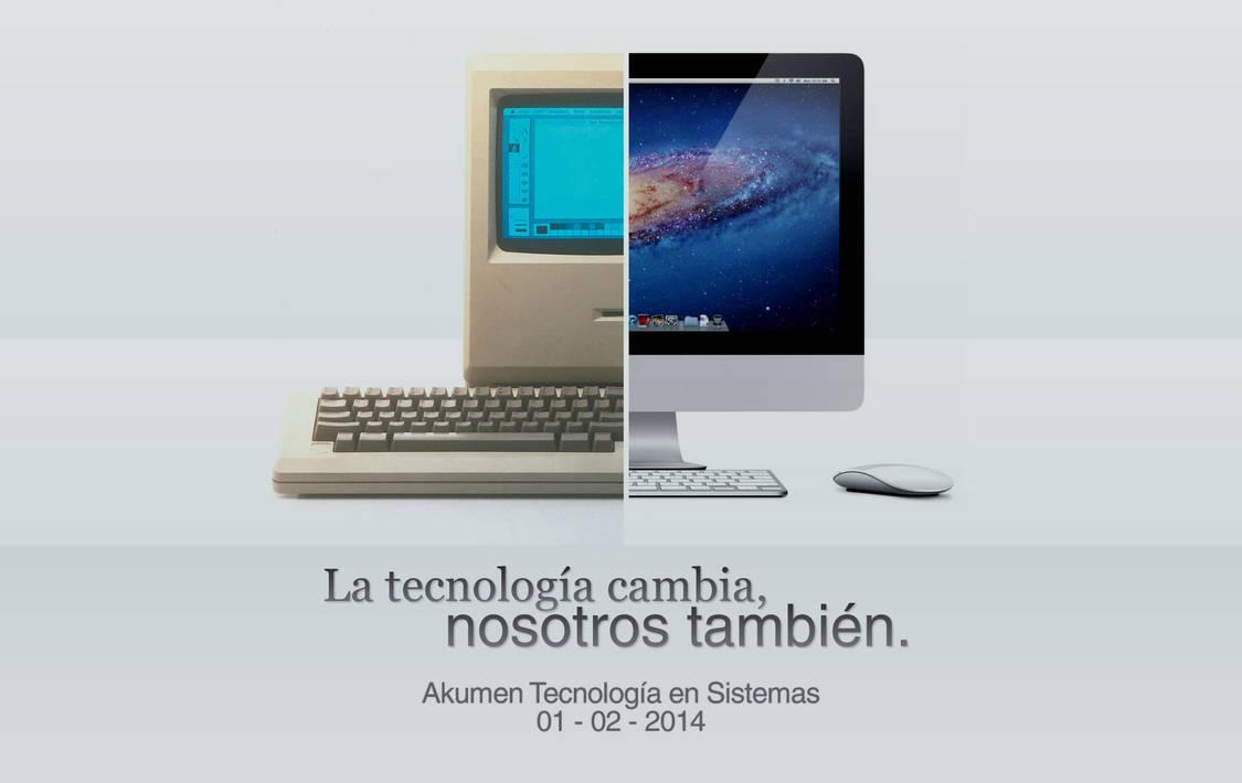 La tecnologia cambia by elporfirio