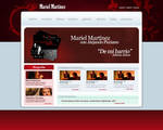 Mariel Martinez Website (mock) by elporfirio