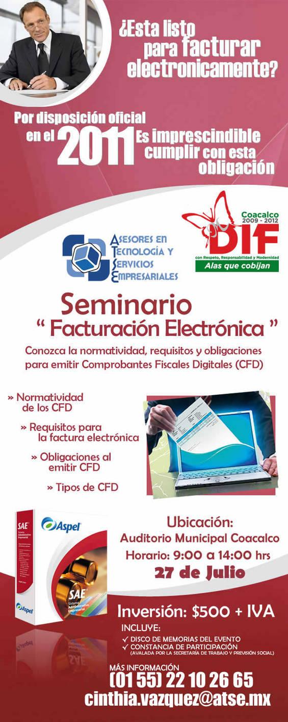 Flyer Factura Electronica by elporfirio