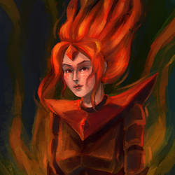 Flame Princess by miolo-blackberry