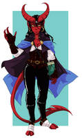 DnD: Ophelia the Bard by AkitheFrivolicious
