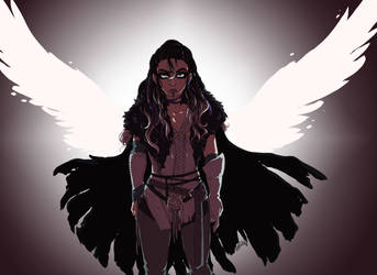 DnD Critical Role: The Protector by AkitheFrivolicious