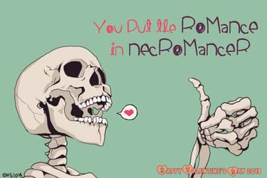 Valentine's 2018: Nec-romance-r by AkitheFrivolicious