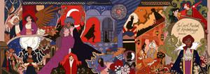The Carpet Merchant of Konstantiniyya Tapestry by reimena