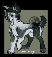 Custom dog :amorri: by onigiryStuff