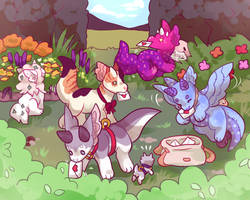 Garden search by onigiryStuff