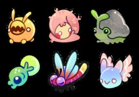 Mini Dekico's Pets 1 by onigiryStuff