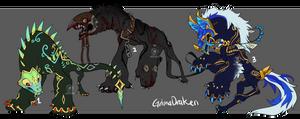 GrimaDraken Auction (close) by onigiryStuff