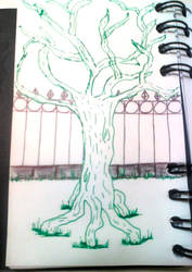 Creepy Tree by kpurple-sky