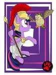 Twilight Athena - Goddess of Wisdom by DarkPrinceismyname
