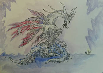 Seath The Scaleless by TheVindictiveWolf