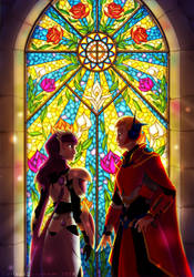 Stained Glass by CuriousCucumber