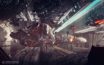 Service Hangar by Julian-Faylona